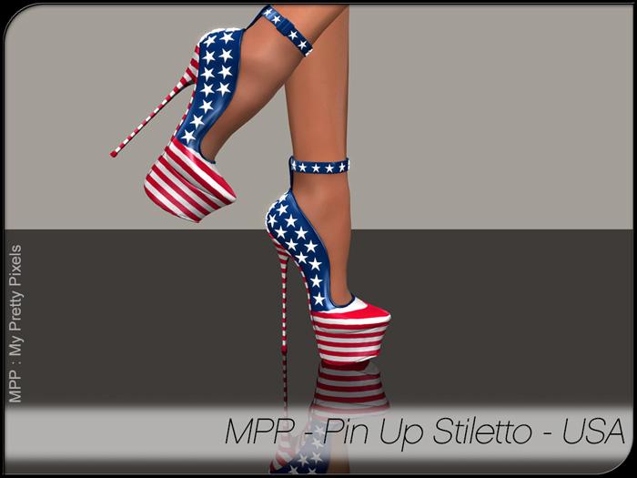 MPP – USA Pin Up Stiletto