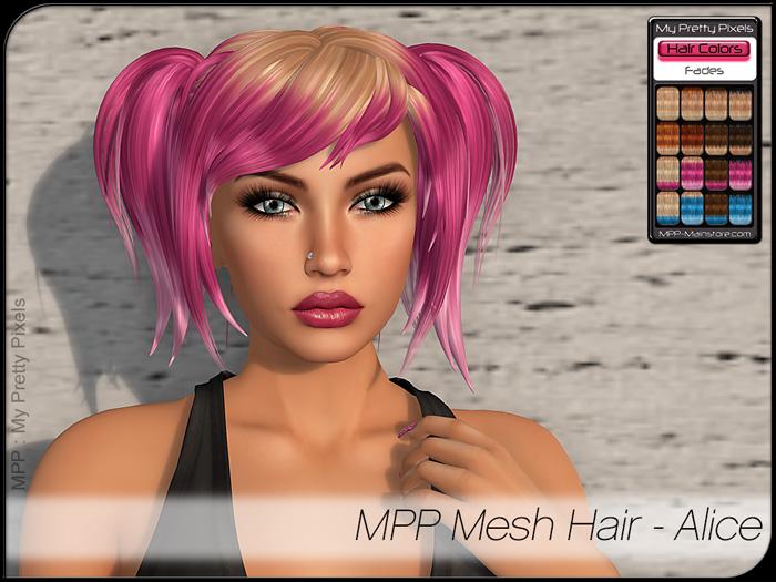 MPP – Mesh Hair : Alice