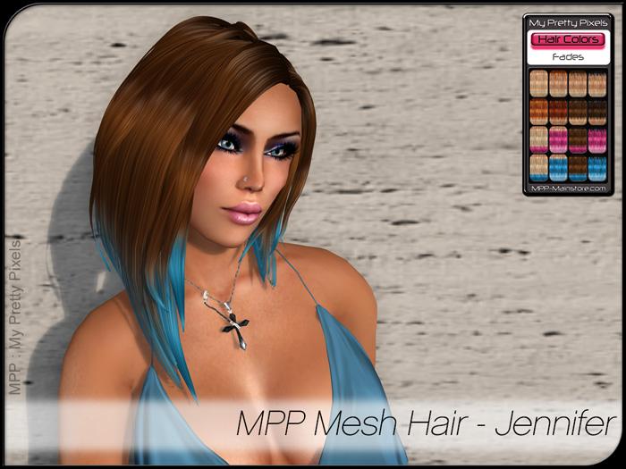 MPP – Mesh Hair : Jennifer