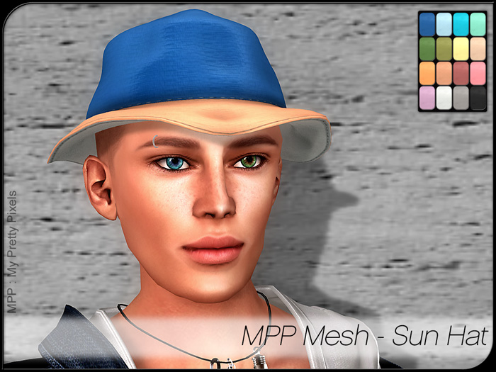 MPP Mesh – Sun Hat