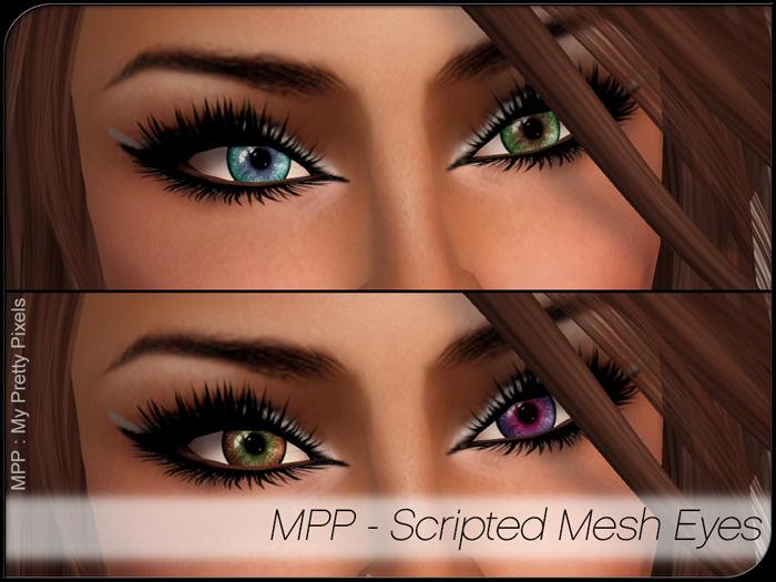 MPP Mesh – Scripted Eyes