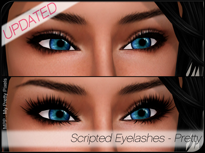 MPP Scripted Eyelashes