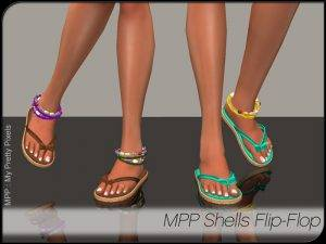 MPP-Display-Women-ShellsFlipflop