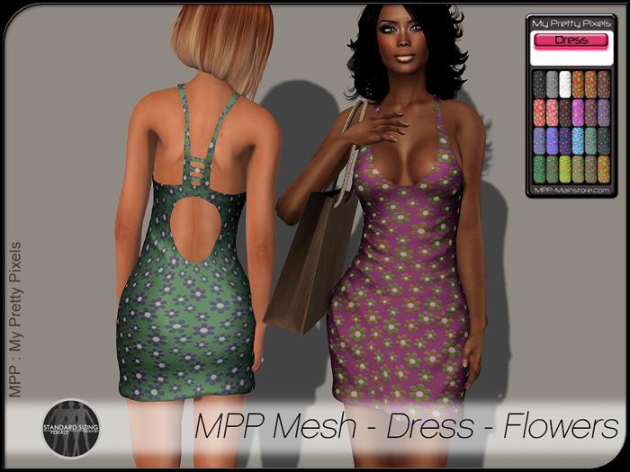 MPP Mesh – Dress