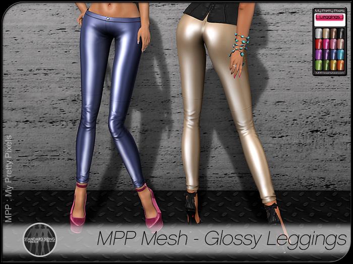 MPP Mesh – Glossy Leggings