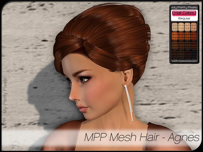 MPP – Mesh Hair : Agnes