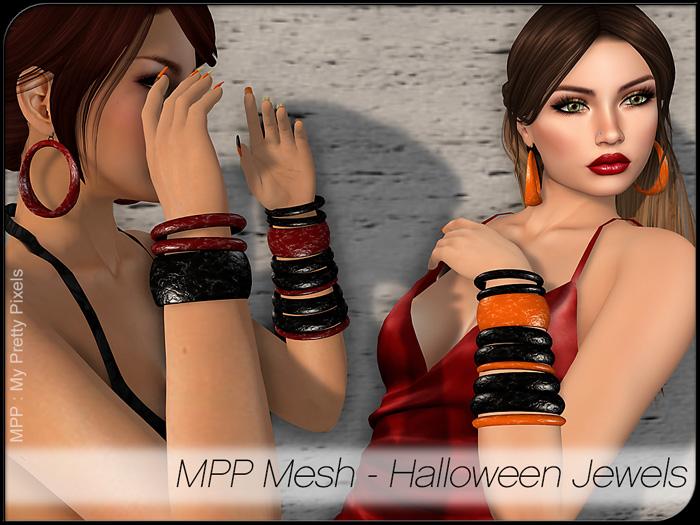 MPP Mesh – Halloween Jewels