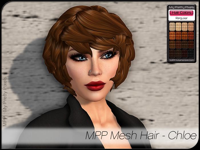 MPP – Mesh Hair : Chloe