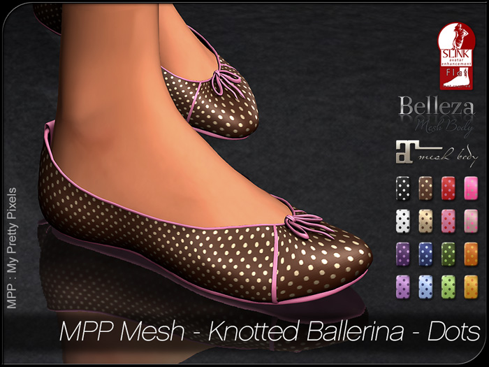 MPP – Knotted Ballerina Dots