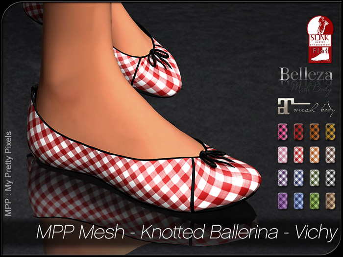 MPP – Knotted Ballerina Vichy