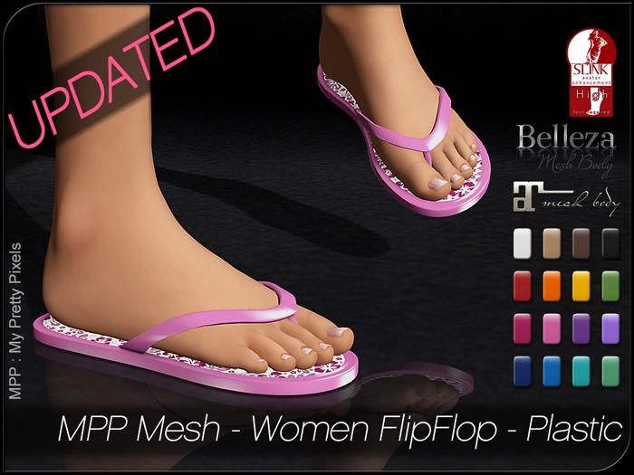 MPP – Women Flip-Flops Plastic
