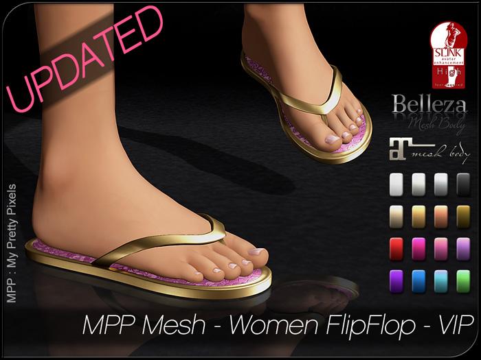 MPP – Women Flip-Flops VIP