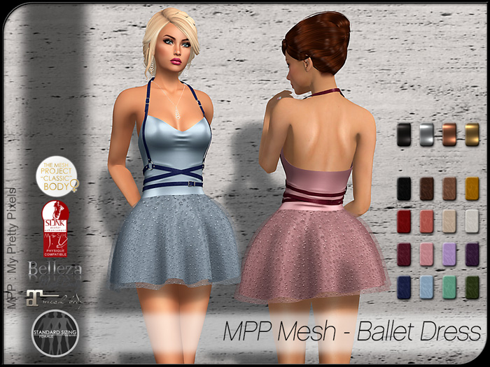 MPP Mesh – Ballet Dress