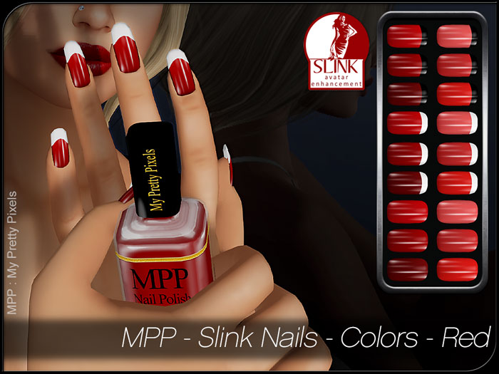 MPP – Slink Nails HUD – Colors