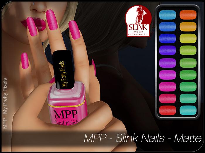 MPP – Slink Nails HUD – Matte