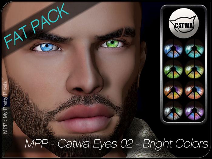 MPP HUD – Catwa Eyes – Set02 – Bright Colors