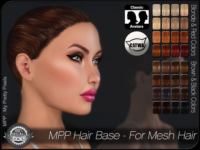 MPP Hair Bases for Mesh Hair