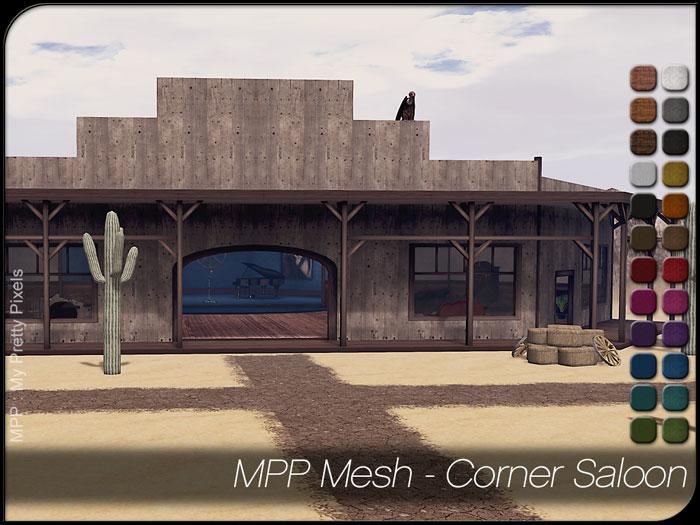 MPP Mesh – Corner Saloon