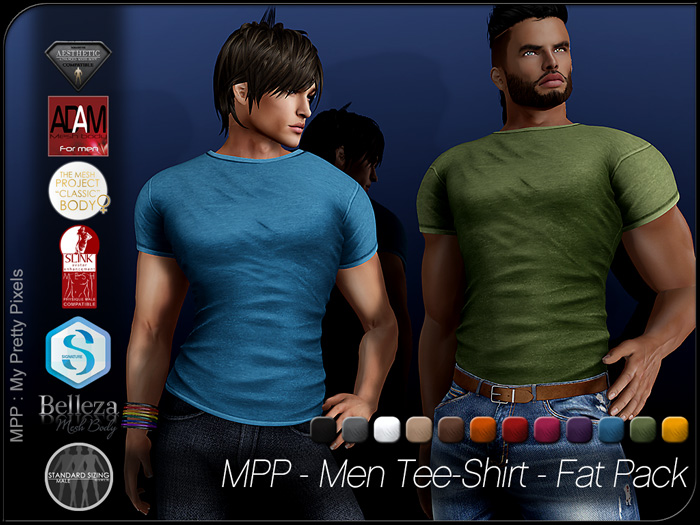 MPP Mesh – Men Tee-Shirt