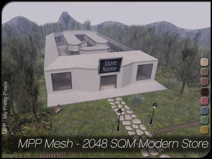 MPP – 2048 SQM Modern Store