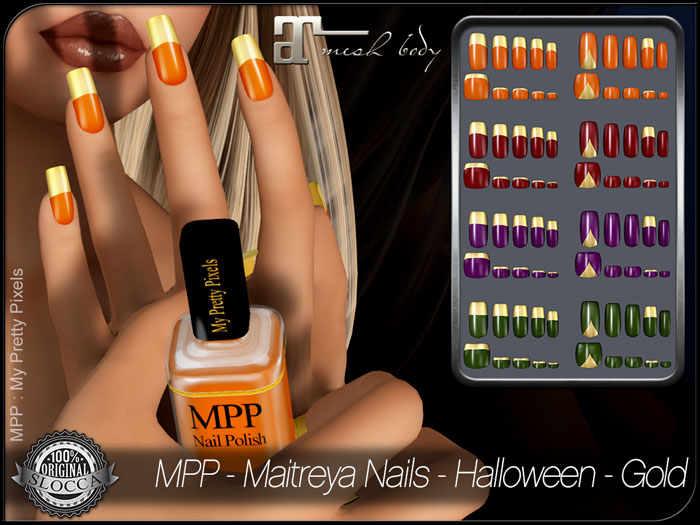 MPP – Maitreya Nails – Halloween