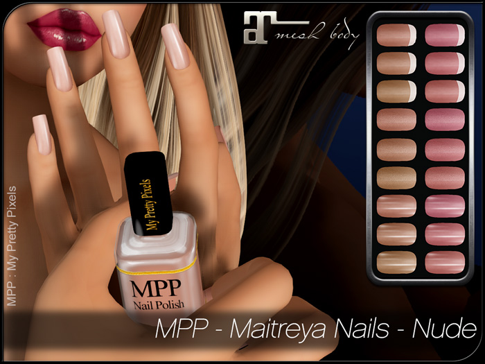 MPP – Nails HUD – Nude