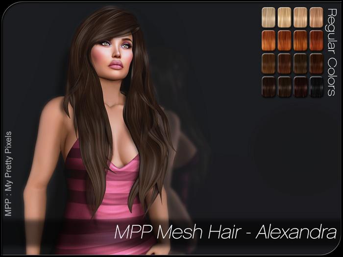 MPP – Mesh Hair : Alexandra