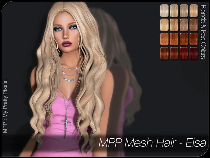 MPP – Mesh Hair : Elsa