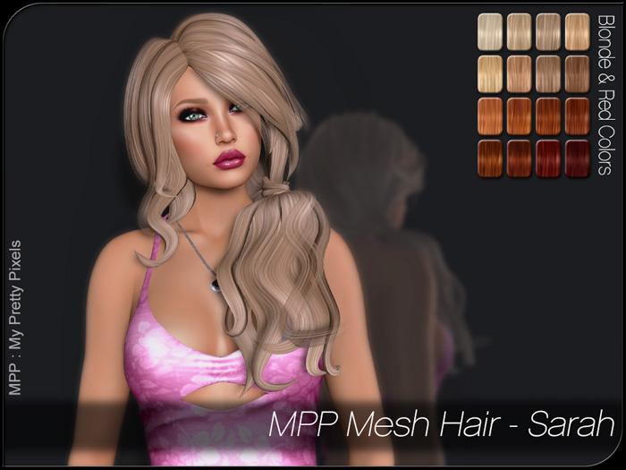 MPP – Mesh Hair : Sarah