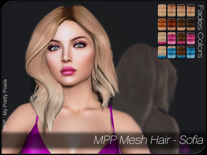 MPP – Mesh Hair : Sofia