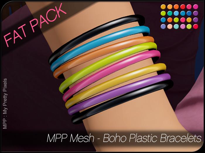 MPP Mesh – Boho Plastic Bracelets