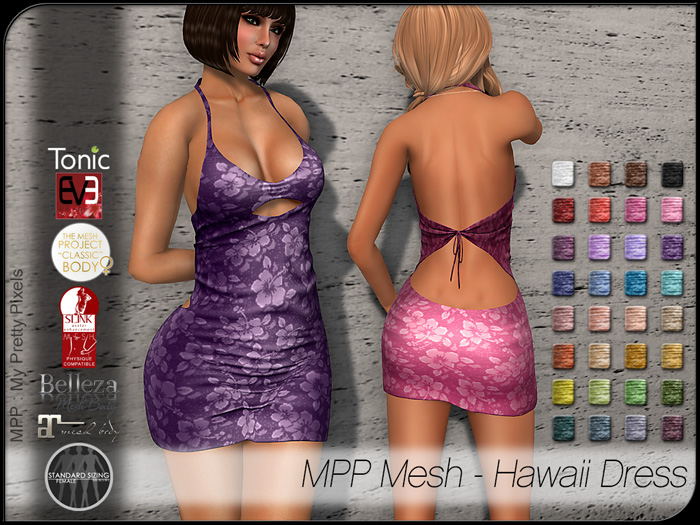 MPP Mesh – Hawaii Dress