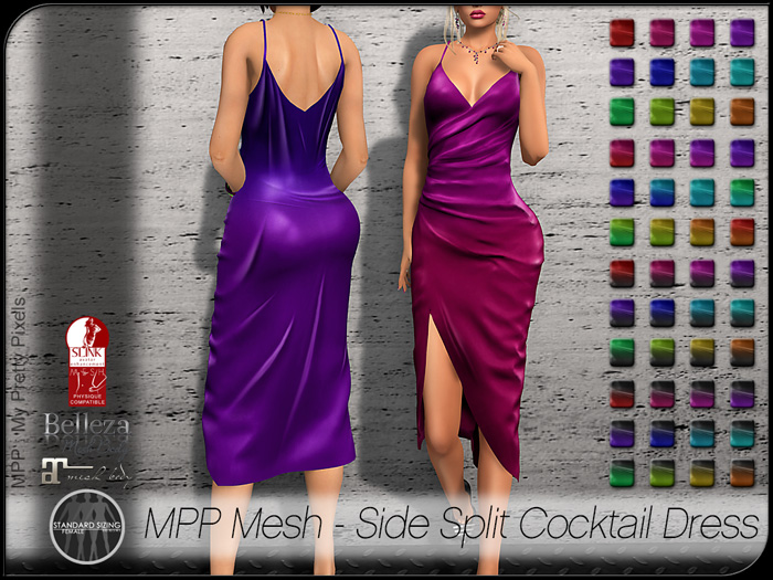 MPP – Side Split Cocktail Dress